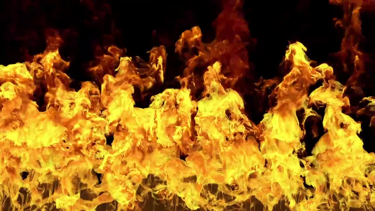 Fire Wall VFX - Stock Motion Graphics | Motion Array
