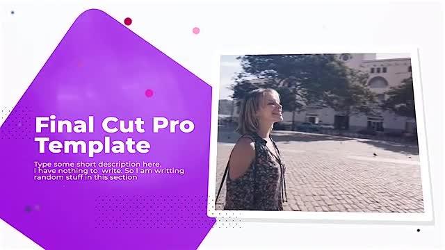 Fancy Minimal Presentation: Final Cut Pro Templates