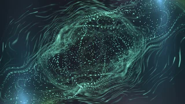 Cyan Abstract: Stock Motion Graphics