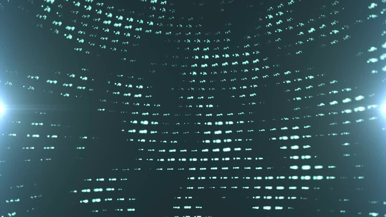 Wall Of Lights: Stock Motion Graphics