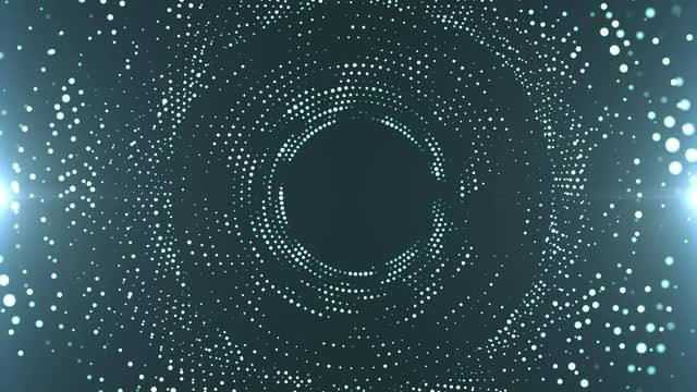 Shimmering Particles: Stock Motion Graphics