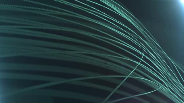 Green Strings: Stock Motion Graphics