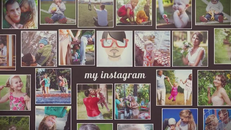 120 Instagram Slideshow: After Effects Templates