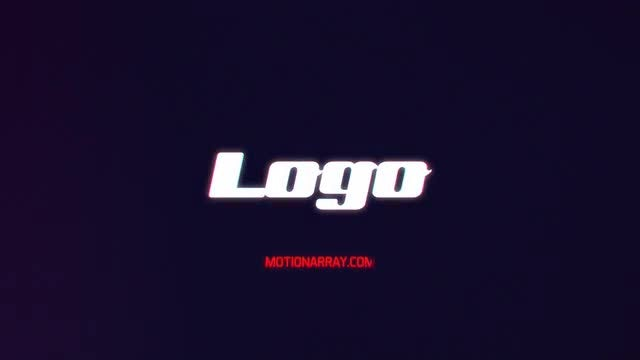 Dark Neon Logo: After Effects Templates