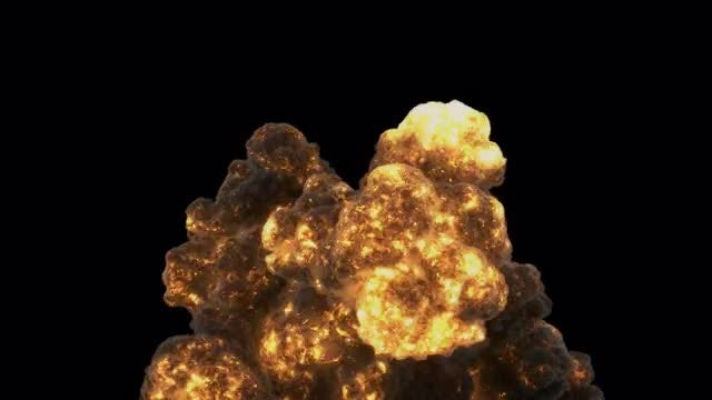 Flames Explosion: Stock Motion Graphics