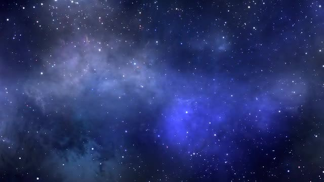 Blue Colors Space Background Loop: Stock Motion Graphics