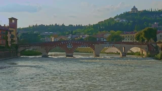 Stone Bridge: Stock Video