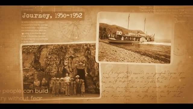 Documentary Historical Slideshow: After Effects Templates
