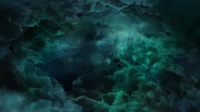 Flying In The Storm Sky: Stock Motion Graphics