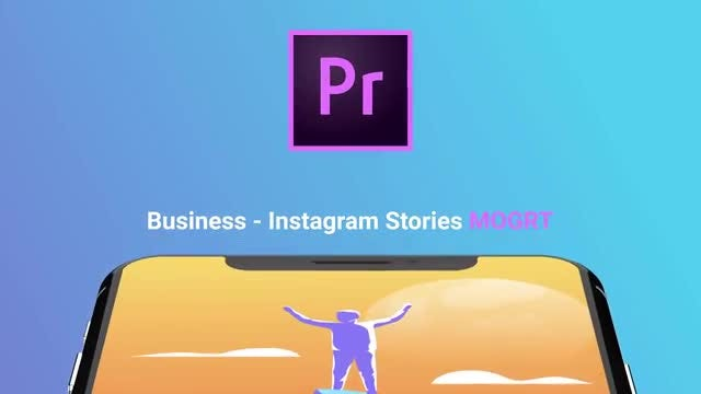 Business Flat - Instagram Stories: Motion Graphics Templates