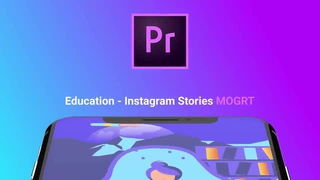 Education Flat - Instagram Stories: Motion Graphics Templates