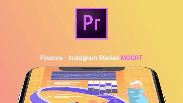 Finance Flat - Instagram Stories: Motion Graphics Templates