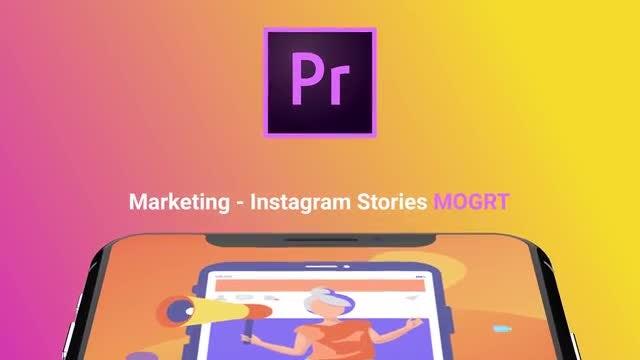 Marketing - Flat Instagram Stories: Motion Graphics Templates