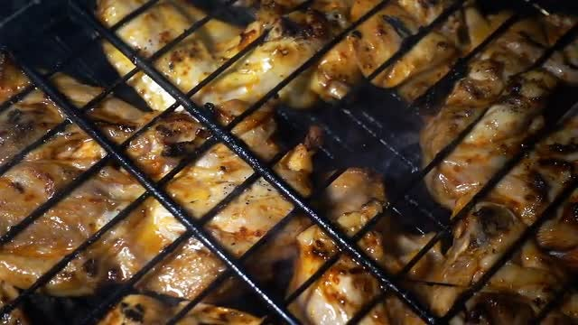 Barbecue Chicken: Stock Video