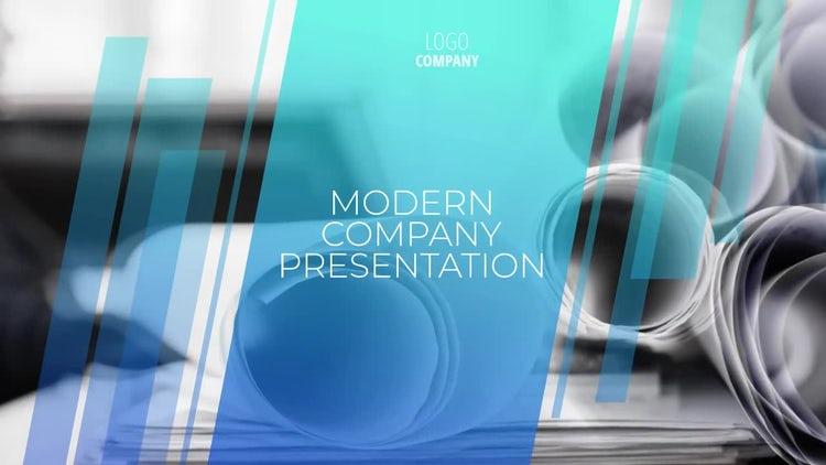 Modern Company Presentation: Premiere Pro Templates