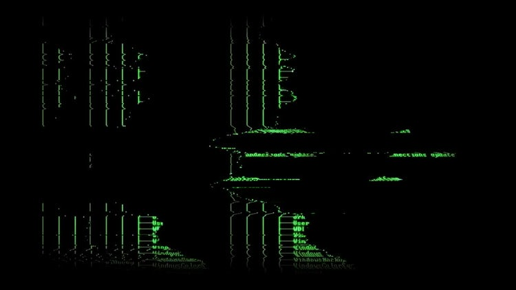 Glitching Code: Stock Motion Graphics