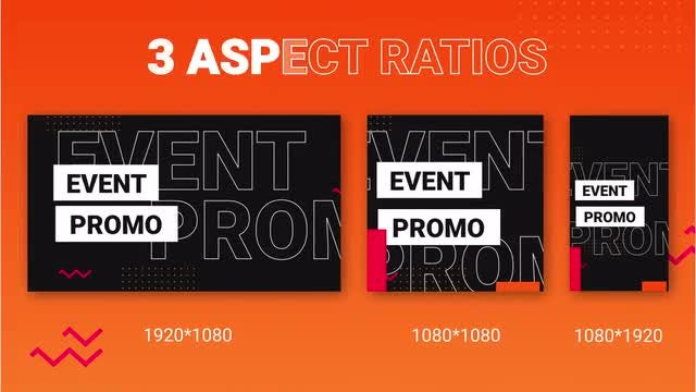 Event Promo For Social Media: After Effects Templates