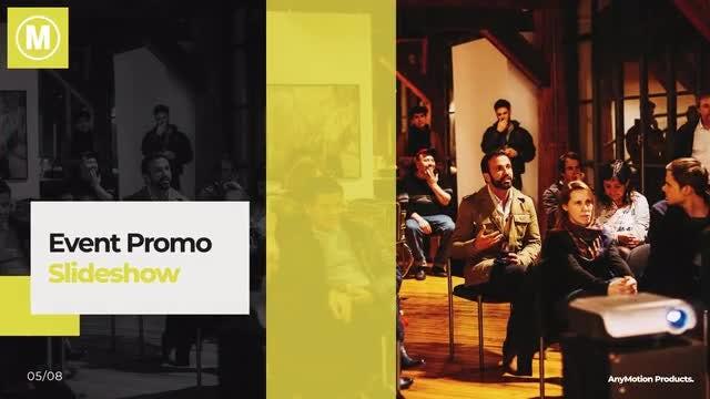Event Promo Slideshow: Premiere Pro Templates