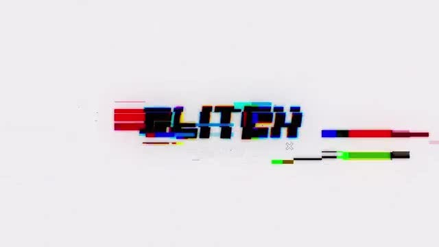 Glitch Intro V2: After Effects Templates