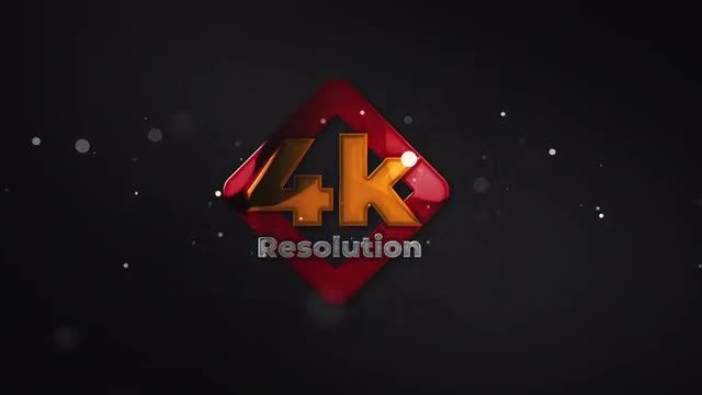 Glossy Particle Logo Reveal: After Effects Templates