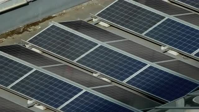 Solar Panels: Stock Video