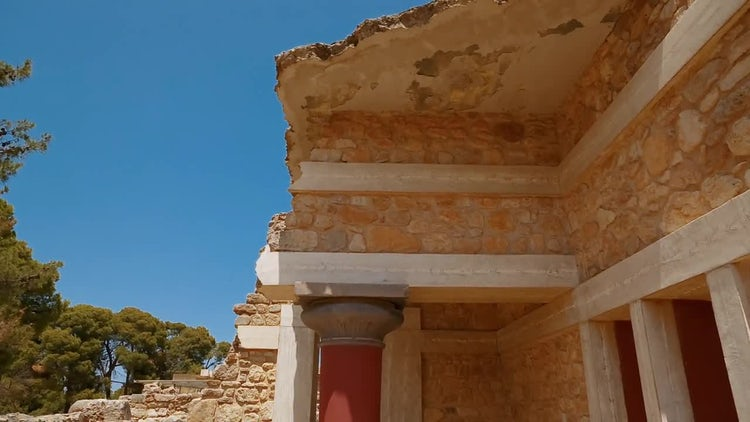 Minoan Ruins: Stock Video