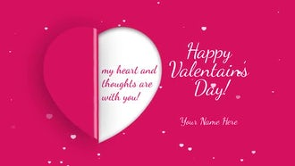 Valentine's Day Greetings: After Effects Templates