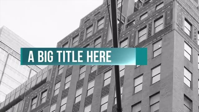 Corp Thirds: After Effects Templates