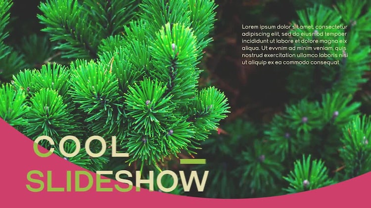 Cool Slideshow: After Effects Templates