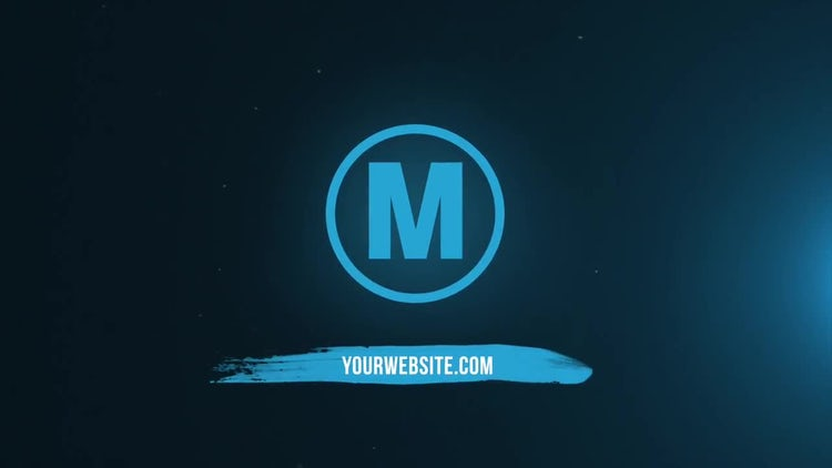 Brushed Logo: After Effects Templates