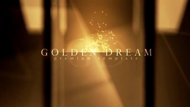 Golden Dream: After Effects Templates
