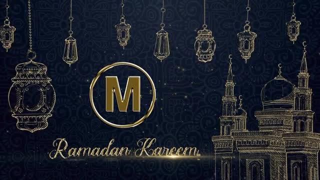 Ramadan Kareem Logo: After Effects Templates