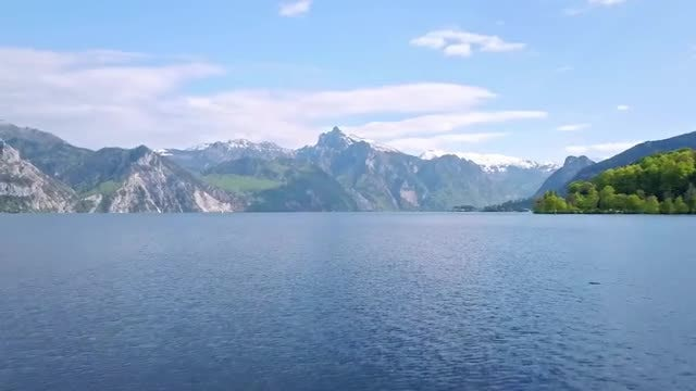 Lake And Mountains: Stock Video
