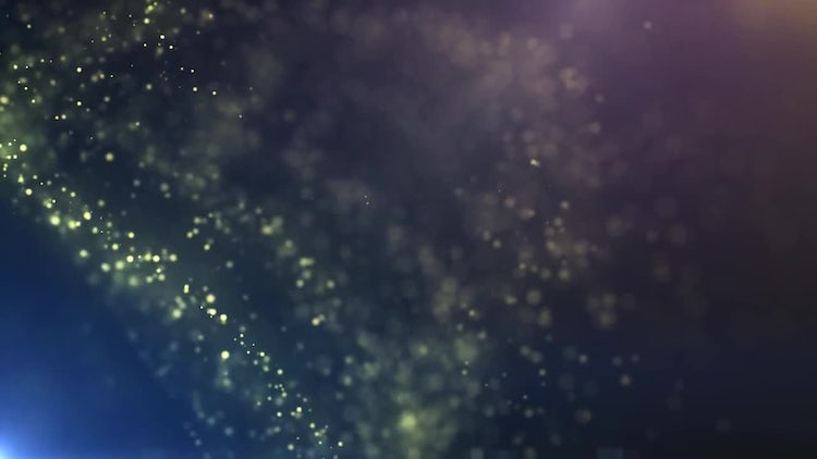 Abstract Particle Background: Motion Graphics
