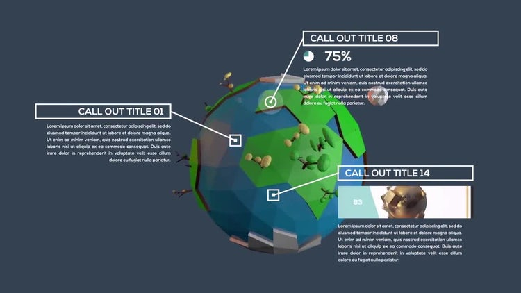 Inforgraphic Call-Out Titles: After Effects Templates