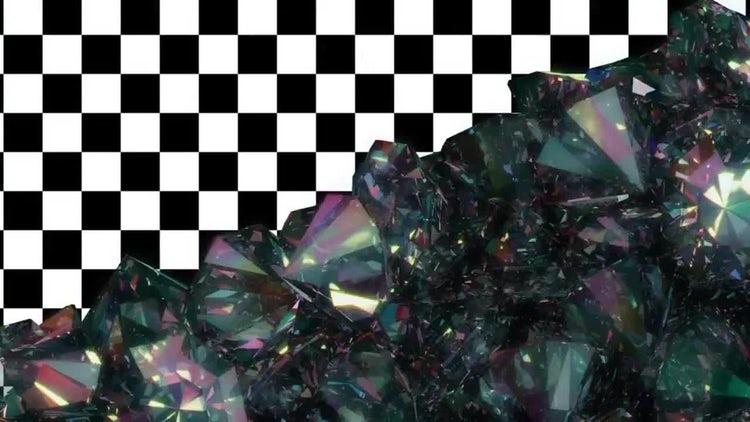 Falling Diamonds Transition: Motion Graphics