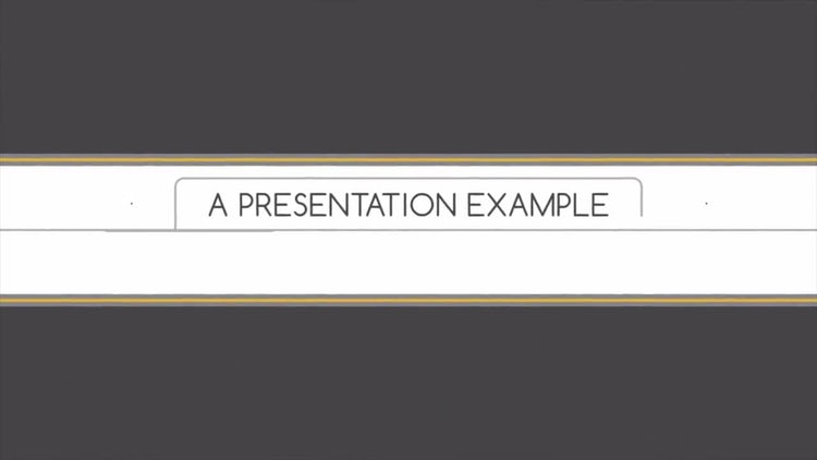 Presentation Template: After Effects Templates