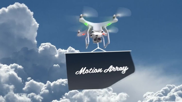 Drone Logo Opener: After Effects Templates