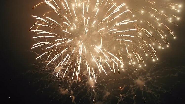 Firework: Stock Video