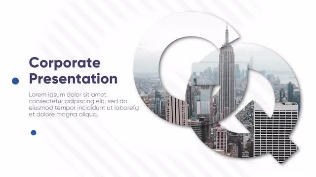 Universal Corporate Business Presentation: Premiere Pro Templates