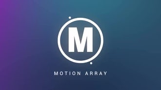 4 Glow Shape Logo Reveals: After Effects Templates