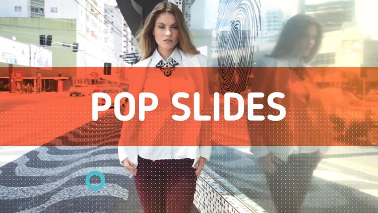 Pop Slides: After Effects Templates