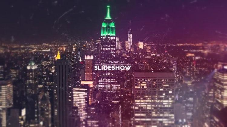 Epic Parallax Slideshow: Premiere Pro Templates
