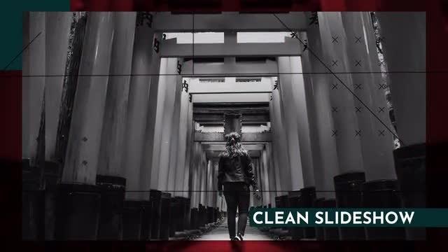 Clean Dynamic Slideshow: Premiere Pro Templates