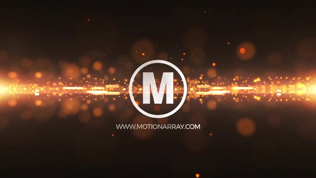 Glitter Particles Logo - After Effects Templates | Motion Array
