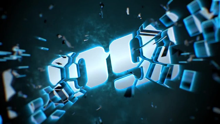 Shatter Logo: After Effects Templates