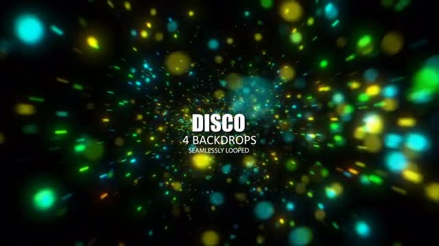Disco: Stock Motion Graphics