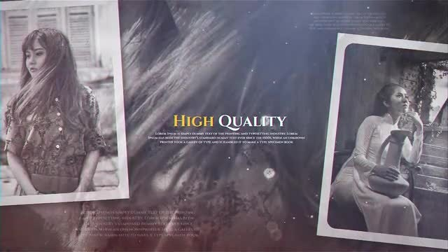 Historical Gallery: After Effects Templates