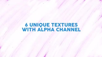Brushstrokes Textures: Motion Graphics