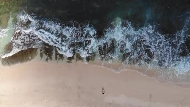 Girl On Beach Series: Stock Video
